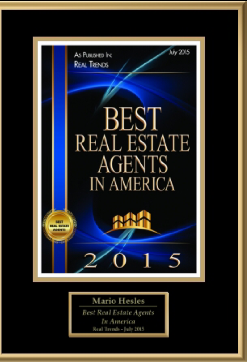Mario Hesles Best Real Estate Agents In America Real Trends July 2015
